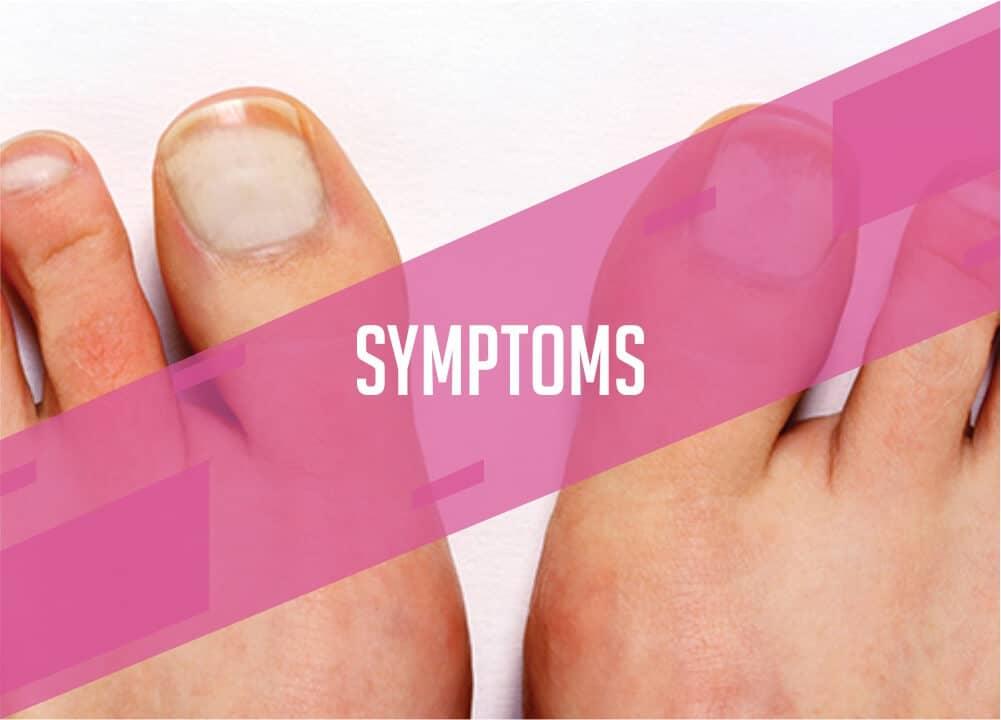 symptoms of injured nails
