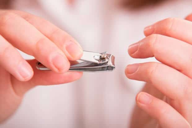cut your nails short